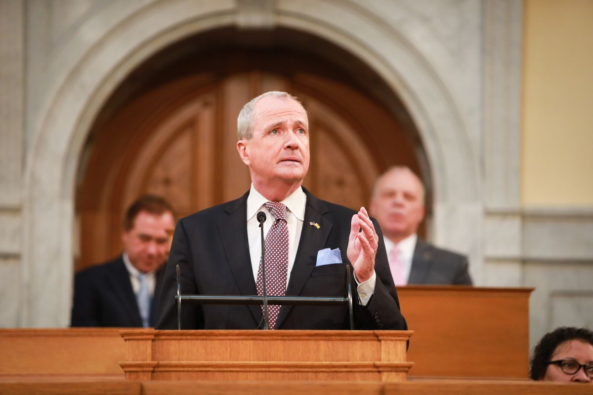 Gov. Phil Murphy on Tuesday delivered his annual budget address, which called for a $336 million increase in state aid for K-12 schools.