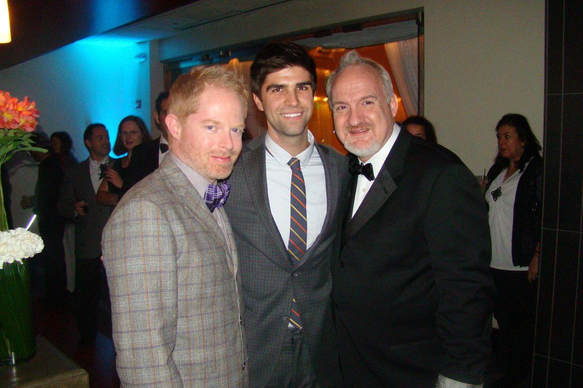 Jesse Tyler Ferguson, Justin Mikita and Art Smith.