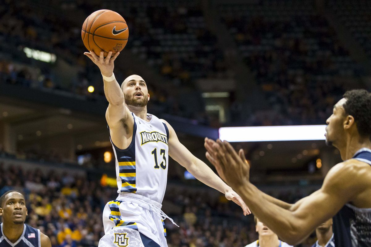 Matt Carlino has been on a tear for Marquette in Big East play.