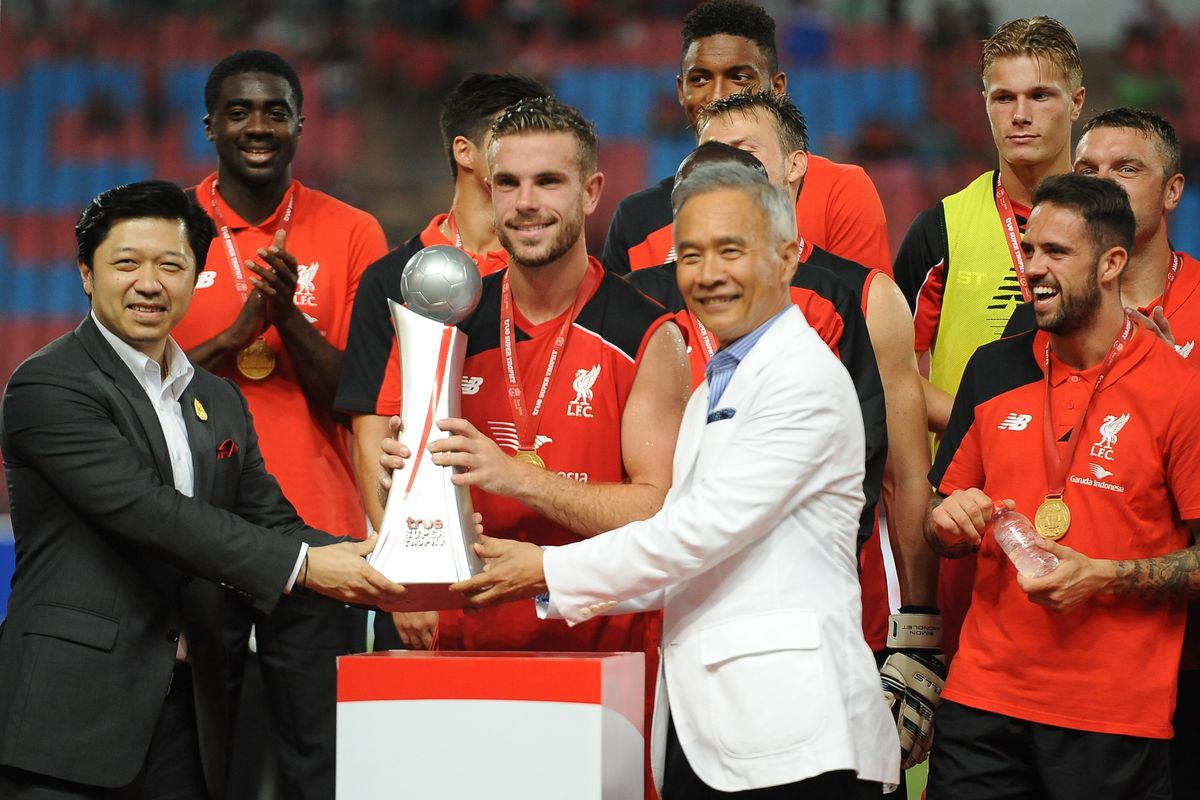 Who said Liverpool don't win trophies any more?
