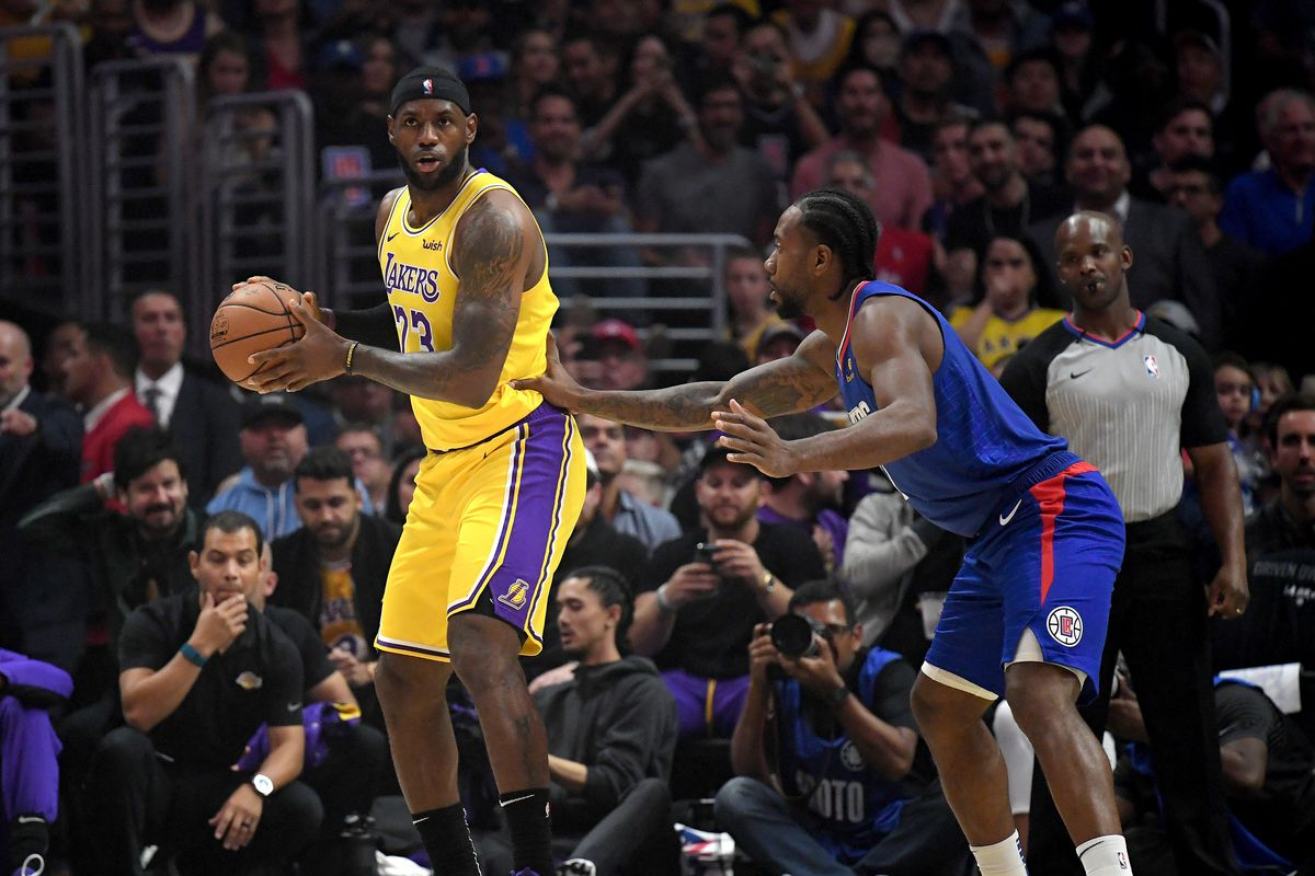 Lakers vs. Clippers Final Score: LeBron falters ...Lakers Vs Clippers