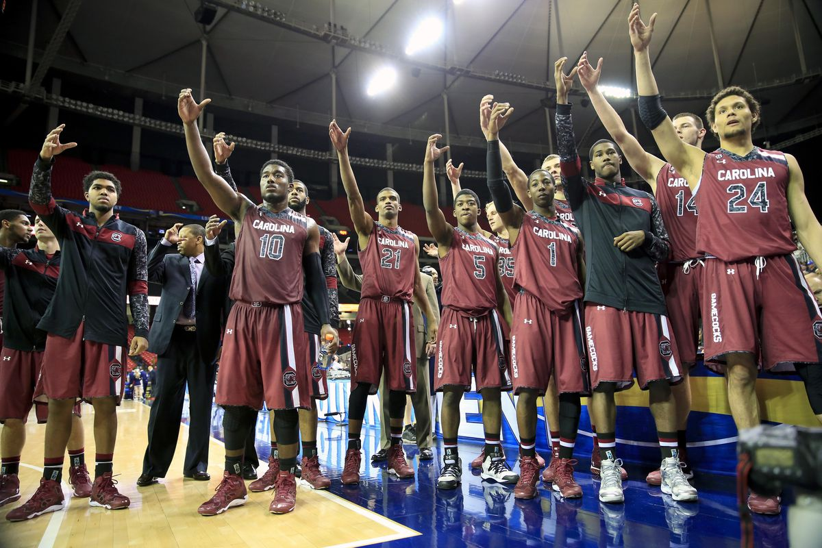 South Carolina toasted a second victory in the SEC Tournament on Thursday afternoon.