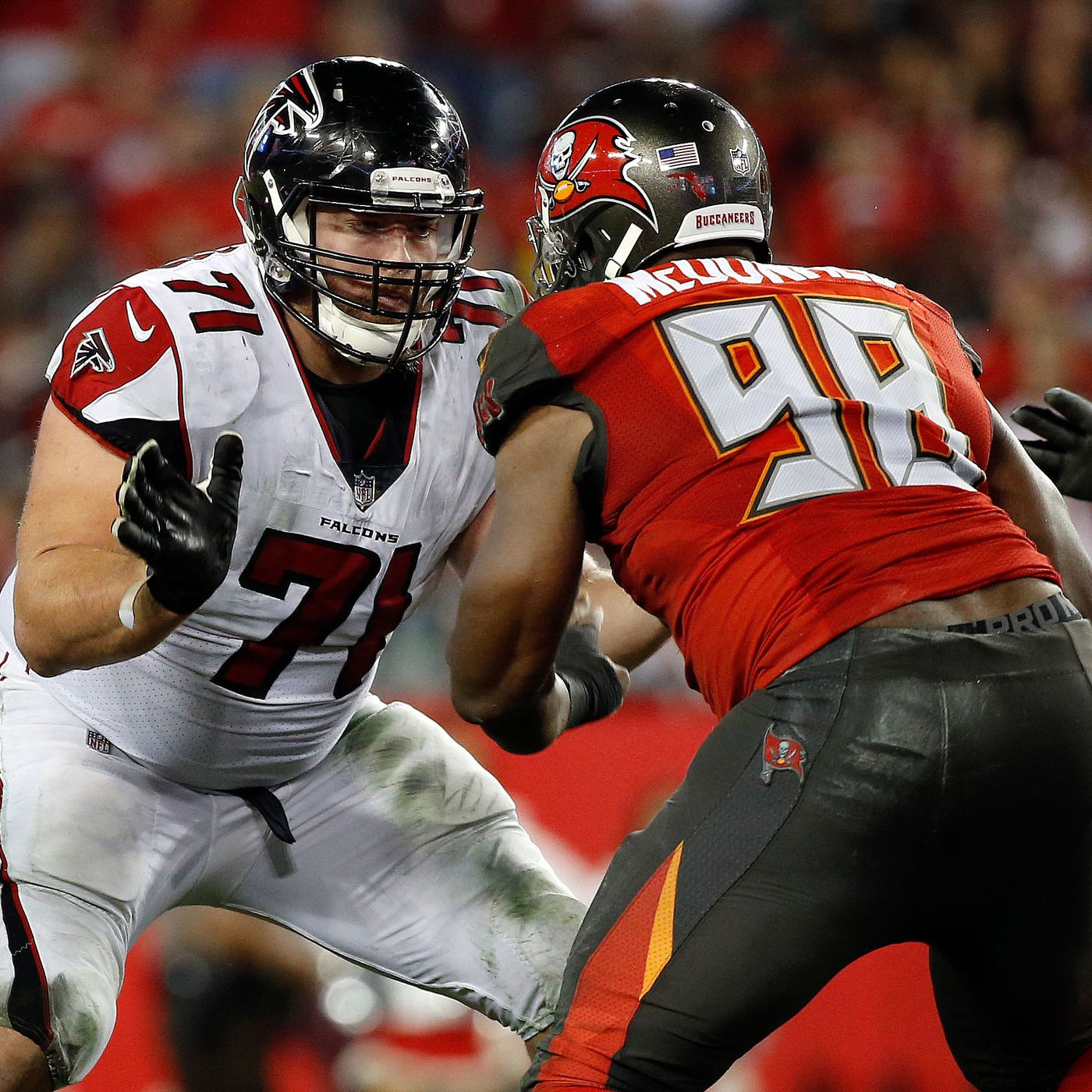 How the Falcons guard situation has changed in the last week The