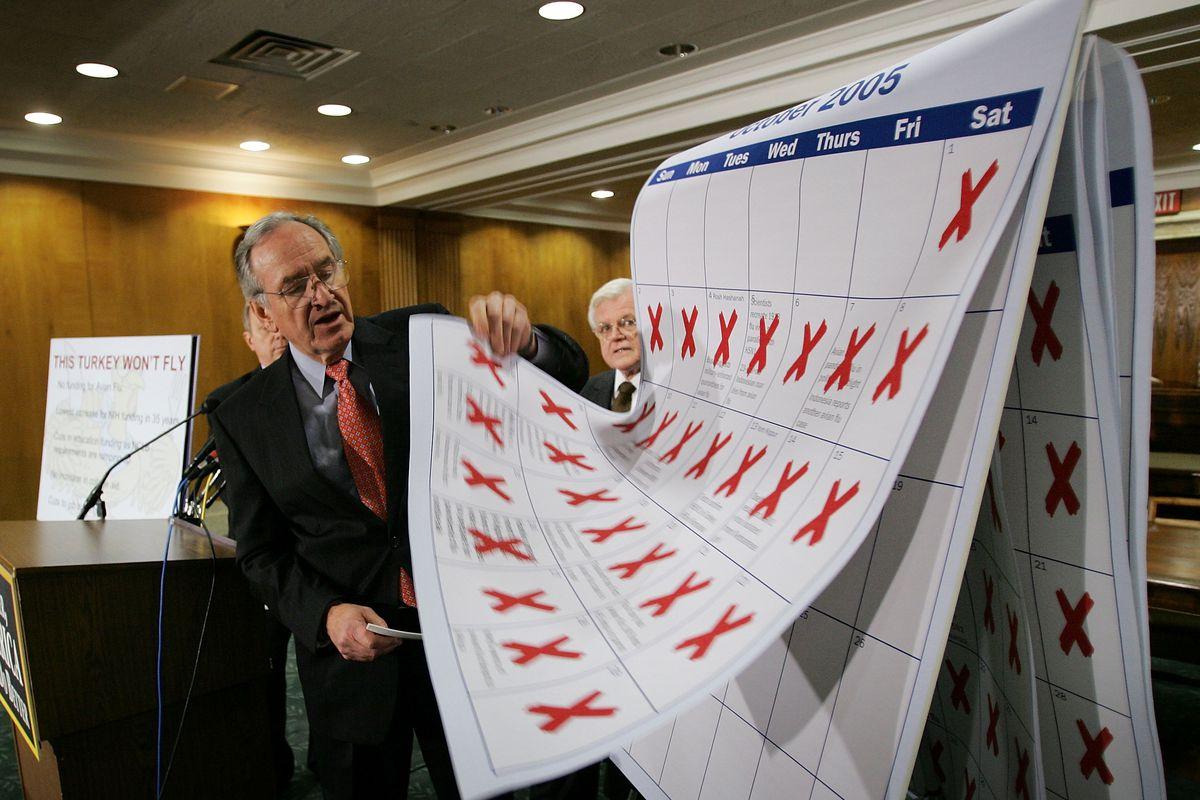 Senate Democrats Discuss Avian Flu Preparedness Funding