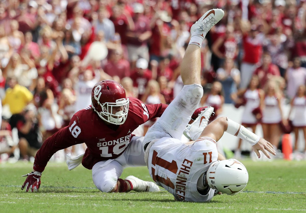 NCAA Football: Texas at Oklahoma