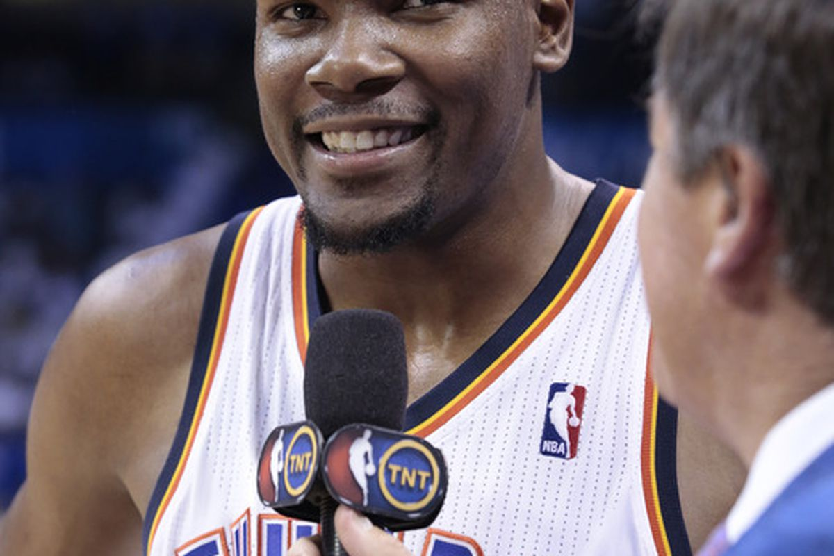 Kevin Durant's troll face.