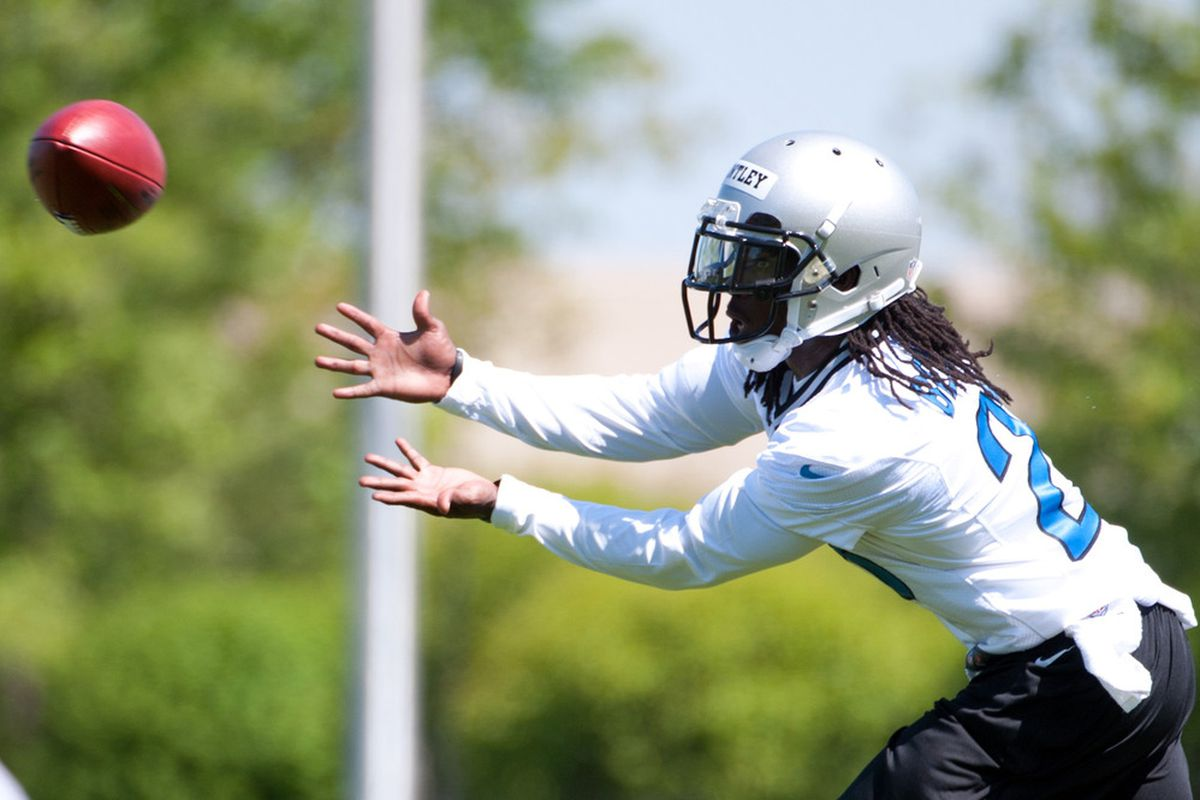 Detroit Lions cornerback Bill Bentley (28) in action at the Detroit Lions training facility. Mandatory Credit: Tim Fuller-US PRESSWIRE