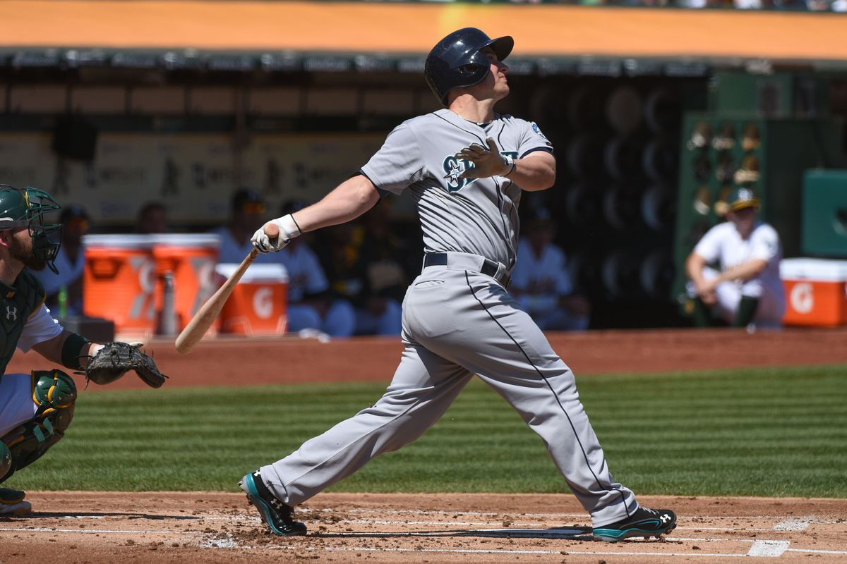 Fly away! Kyle Seager goes yard.