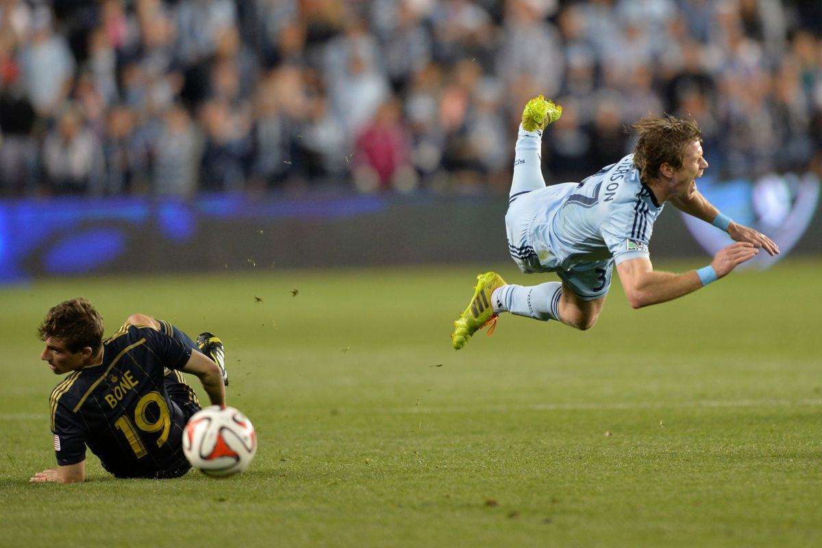 It was a rough match for SKC on Wednesday