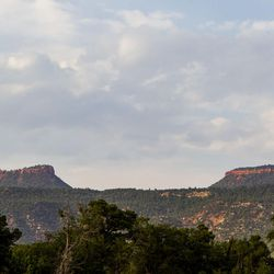 The Bears Ears bluffs near Blanding are pictured on Thursday, Aug. 20, 2015. The Bears Ears area is the center of a proposed 1.9 million acre region to be conserved and possible site of a national monument.