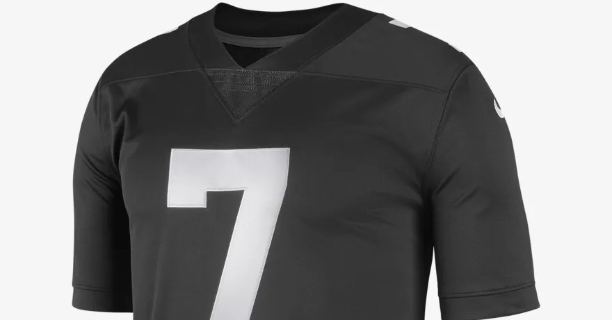 Colin Kaepernick and Nike unveil new black ?Icon? jersey