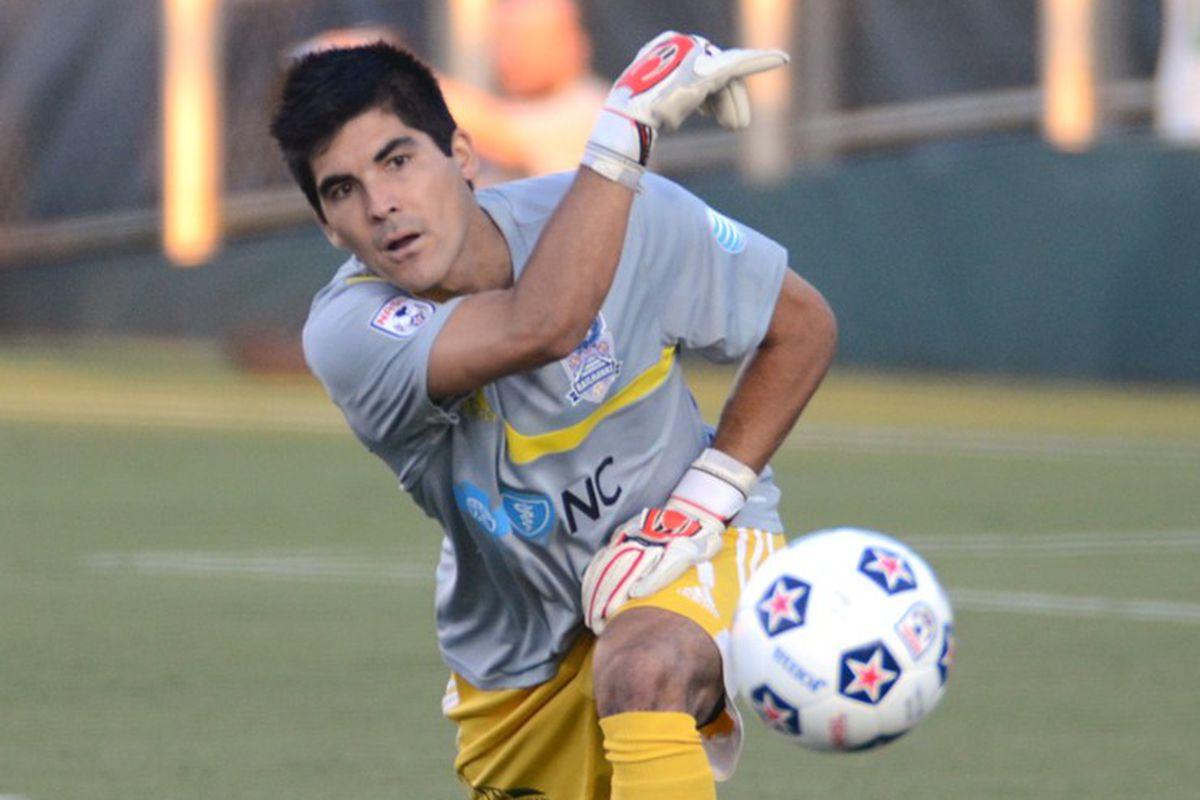 Akira Fitzgerald, New York City's new goalkeeper