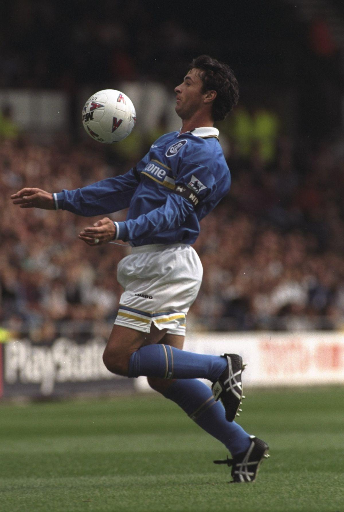 Gary Speed of Everton