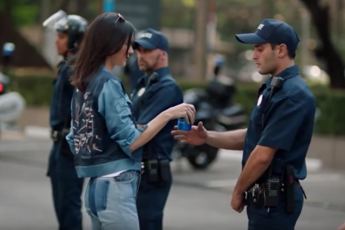 Kendall Jenner with Pepsi