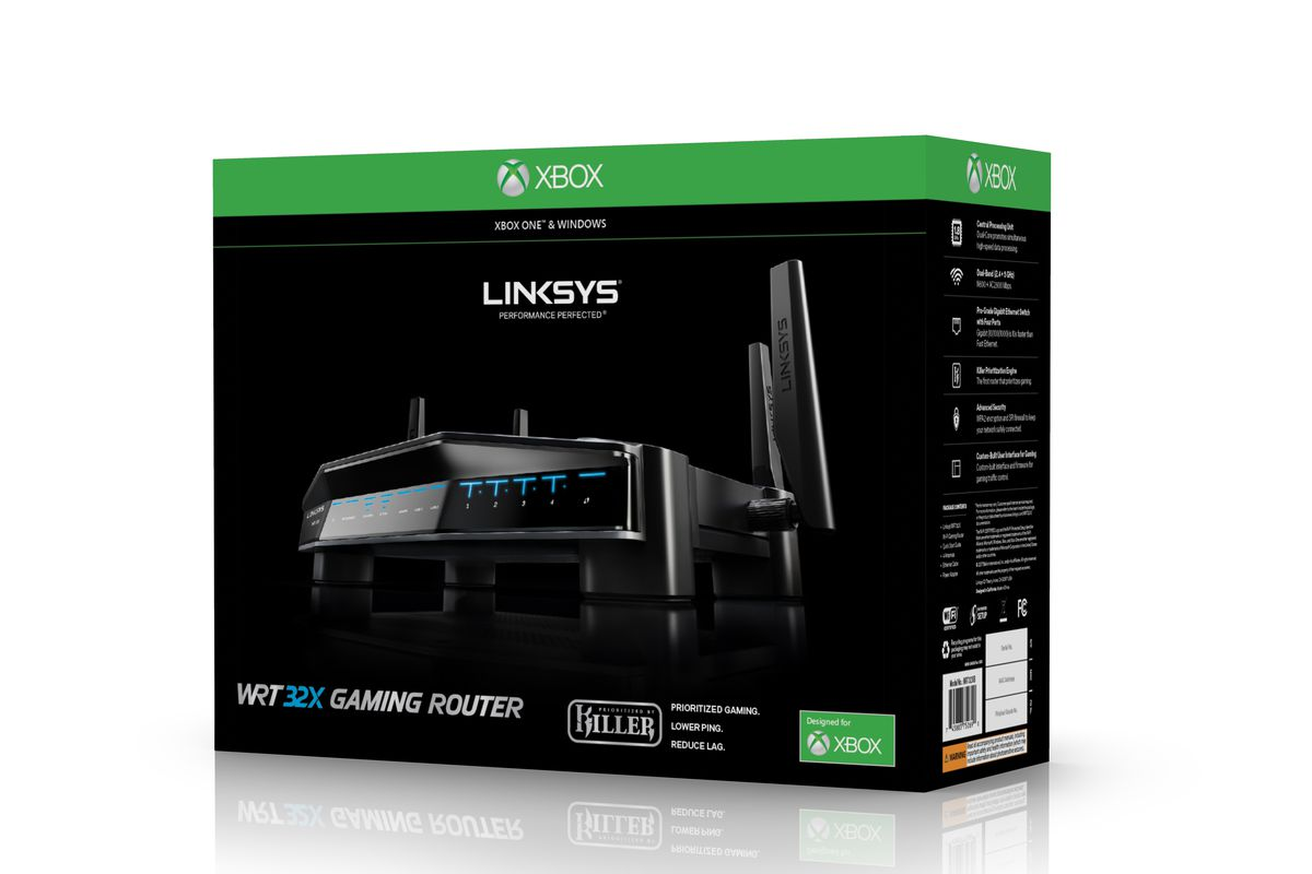 Linksys' new router is designed specifically to make your Xbox One