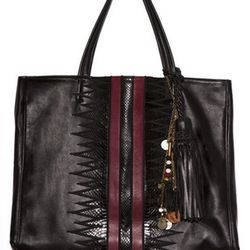 """This Karla bag  (<a href=""""http://simonecamille.com/collections/skins-fall-2013/products/karla-bag""""target=""""_blank"""">$670</a>) from superstar stylist <a href=""""http://la.racked.com/archives/2013/02/13/celeb_stylist_simone_harouche_loves_the_real_housewives.ph"""