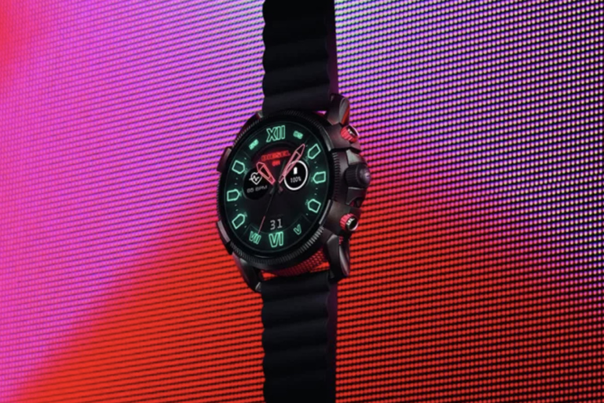 faea78fb5 Diesel's new Full Guard 2.5 is the biggest Wear OS watch yet - The Verge