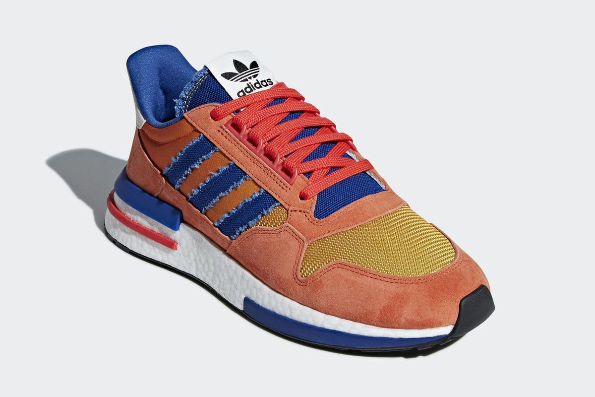 fe47c427051a2 Dragon Ball Z s Adidas collab includes dope Goku sneakers and more ...