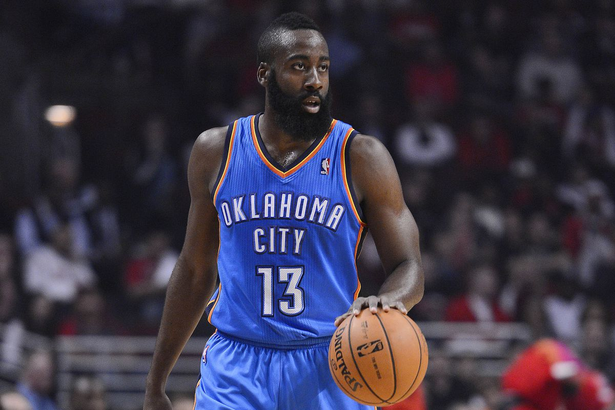 449afb47 Oklahoma City Thunder can't agree to contract extension with James Harden,  trade him