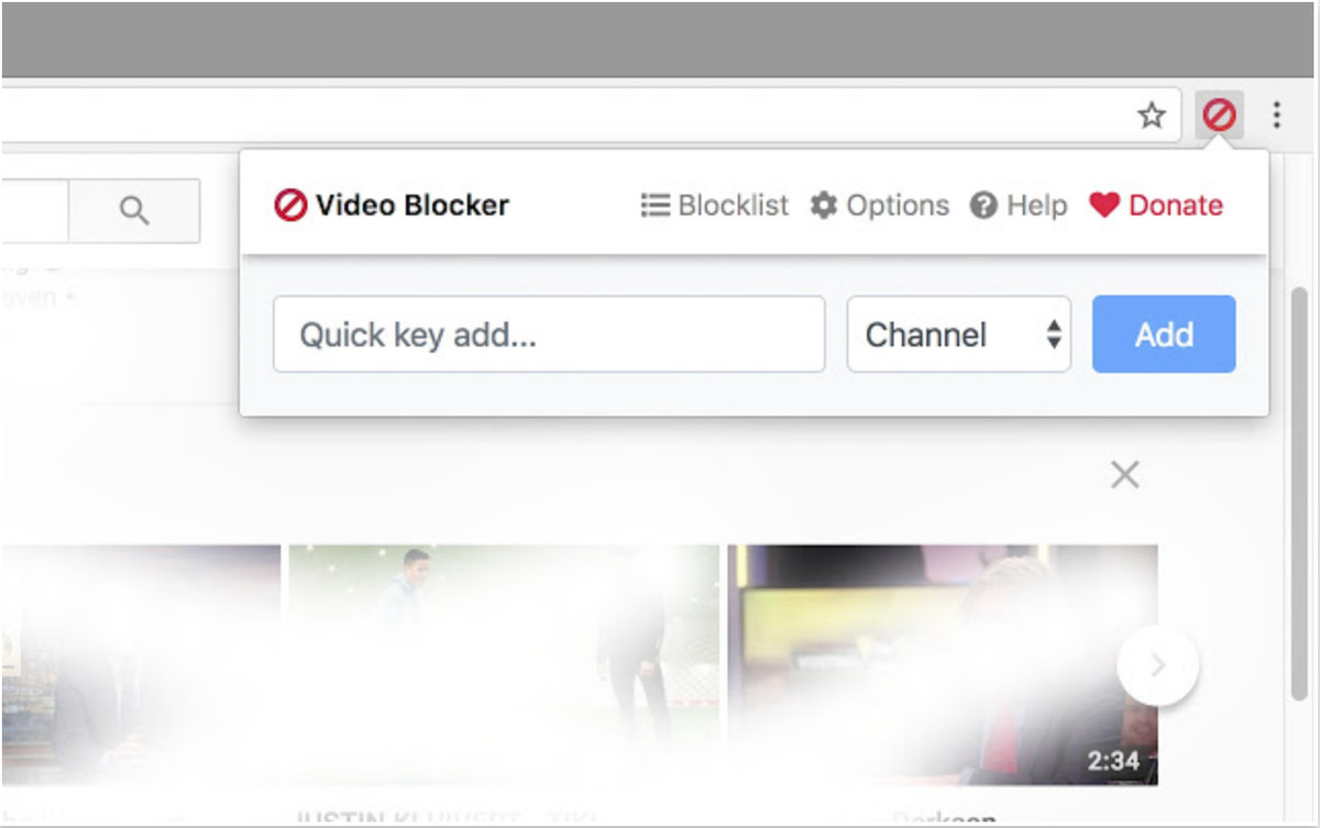 Video Blocker screenshot