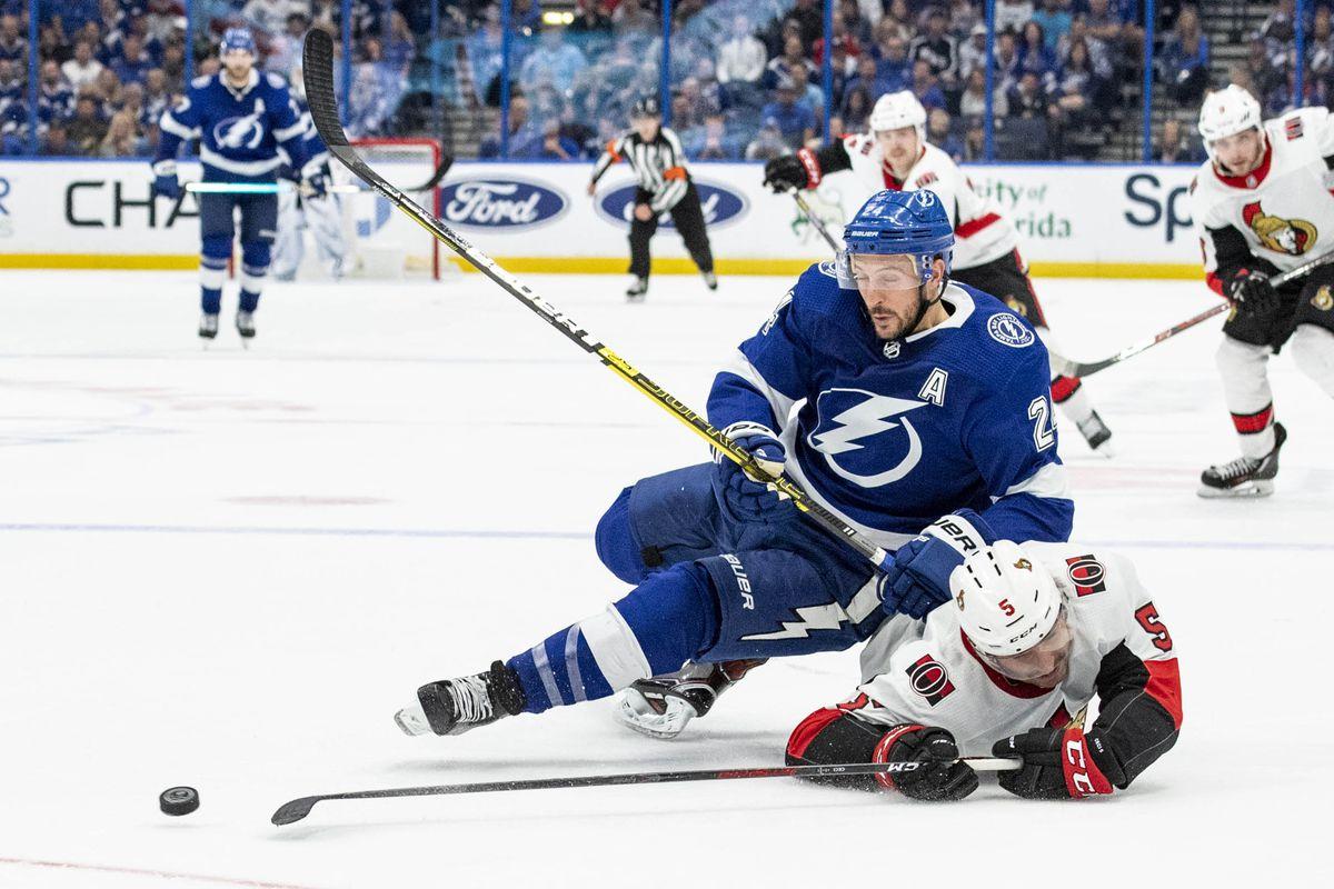 Tampa Bay Lightning fail to close out Ottawa Senators in 6-4 loss