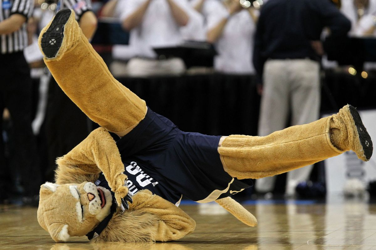 Even BYU's mascot is falling in these rankings.