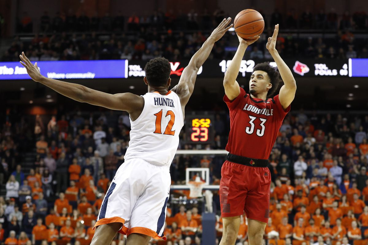 NCAA Basketball: Louisville at Virginia