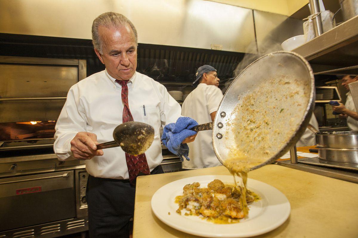 Sabatino's Shrimp de Jonghe Hot Dish Classics Week