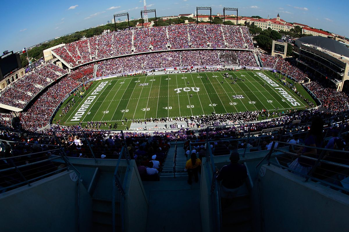 TCU and Tech fans turned out in droves to watch Tech push TCU out of the polls.