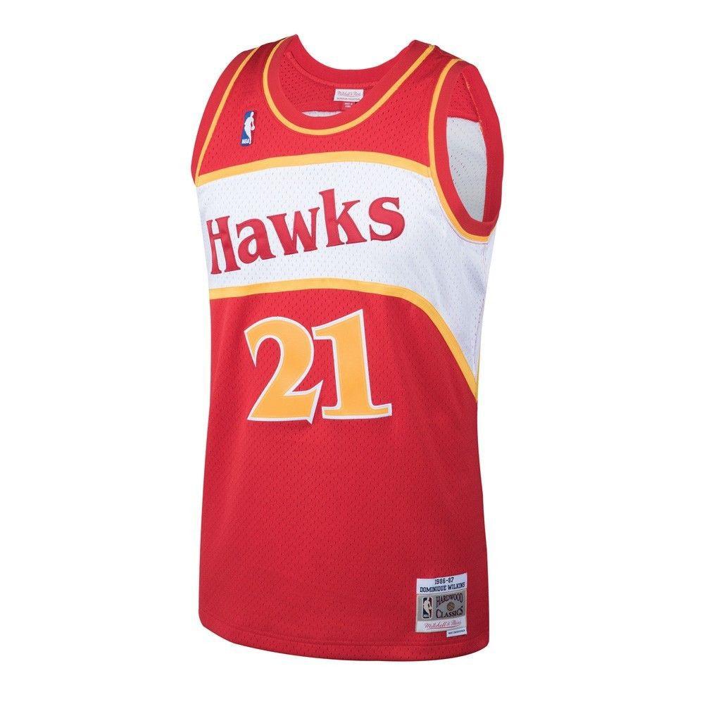 51db3458ecc Dominique Wilkins Hawks Throwback Jersey for  109.99 eBay