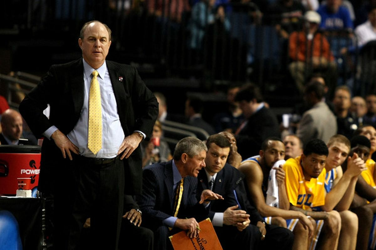 When it comes to being a leader, Ben Howland - just like his boss Dan Guerrero - is a FRAUD. (Photo by Chris Chambers/Getty Images)