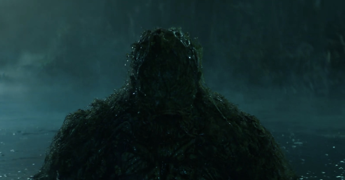 Swamp Thing teaser brings the swampy creature to life
