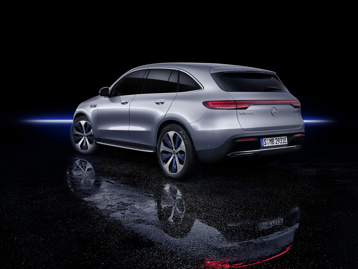 Correction Mercedes Benz Has Previously Released All Electric Cars