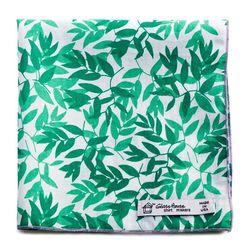 Green Leaf Print Organic Pocket Square will be $24 (retail $29)