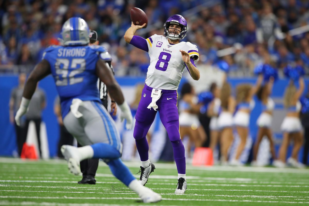 Is Vikings Quarterback Kirk Cousins Actually Good