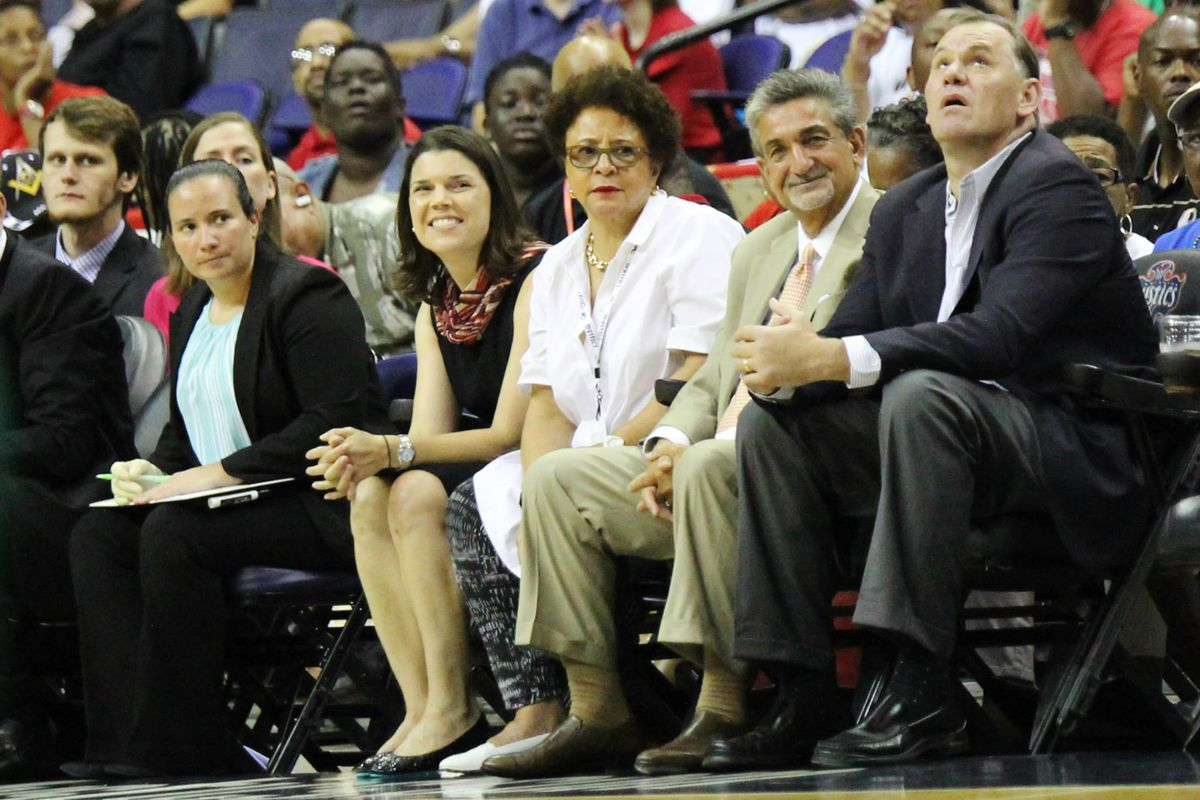 Ted Leonsis is happy that Sue Bird and the Seattle Storm got a huge butt-whooping from the Mystics on Wednesday.