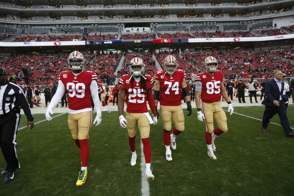 49ers news: George Kittle strives to be what Richard Sherman is