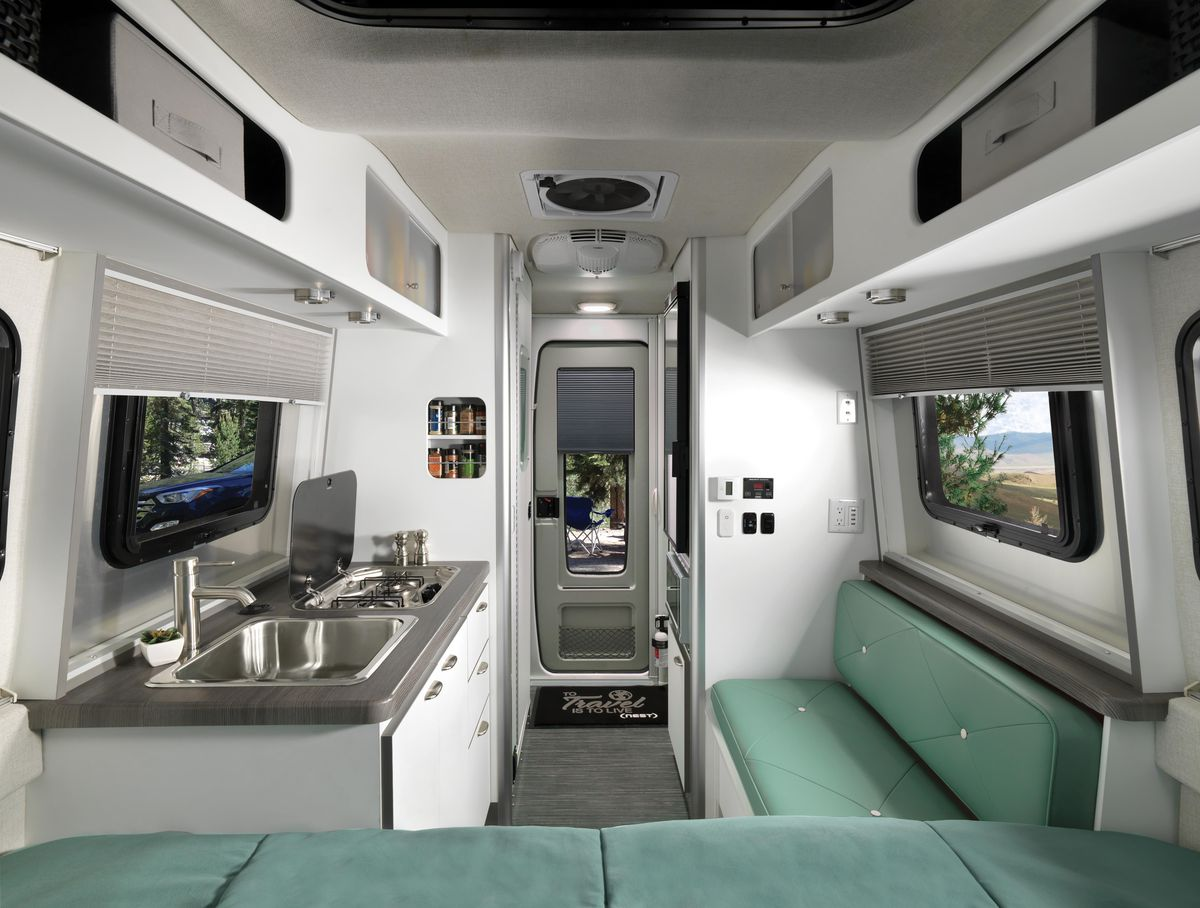 Airstream S New Trailer Nest Offers Compact Luxury For