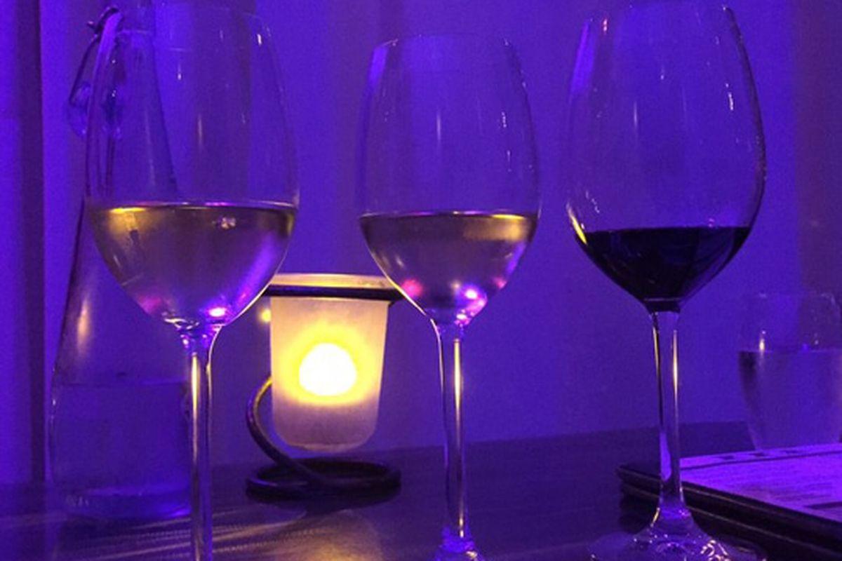Wine at Mercy Wine Bar