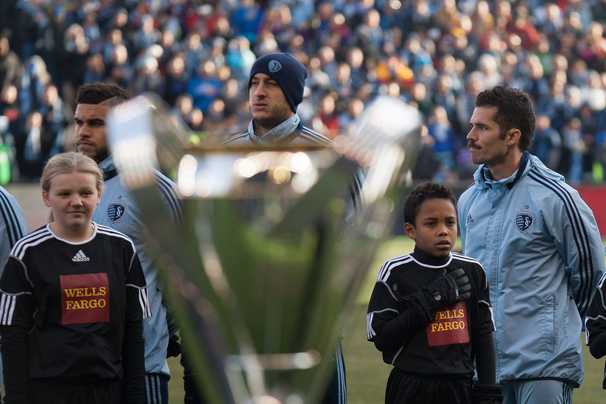 Collin rising out of the MLS Cup like a French genie to will SKC to the win