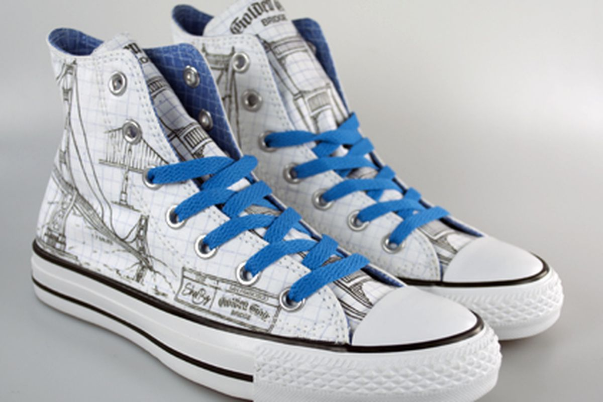 82a4074312 Converse x Shoe Biz Design Chucks for SF Lovers - Racked SF