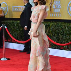 Rose Byrne in a pretty floral Valentino.