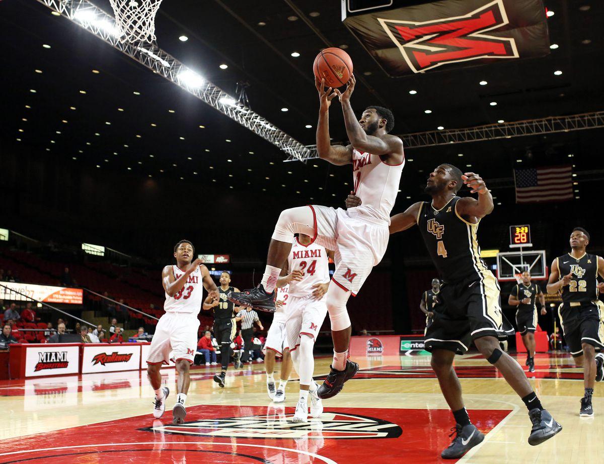 NCAA Basketball: Central Florida at Miami (OH)