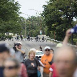 Anti-violence protesters march on Lake Shore Drive   Ashlee Rezin/Sun-Times