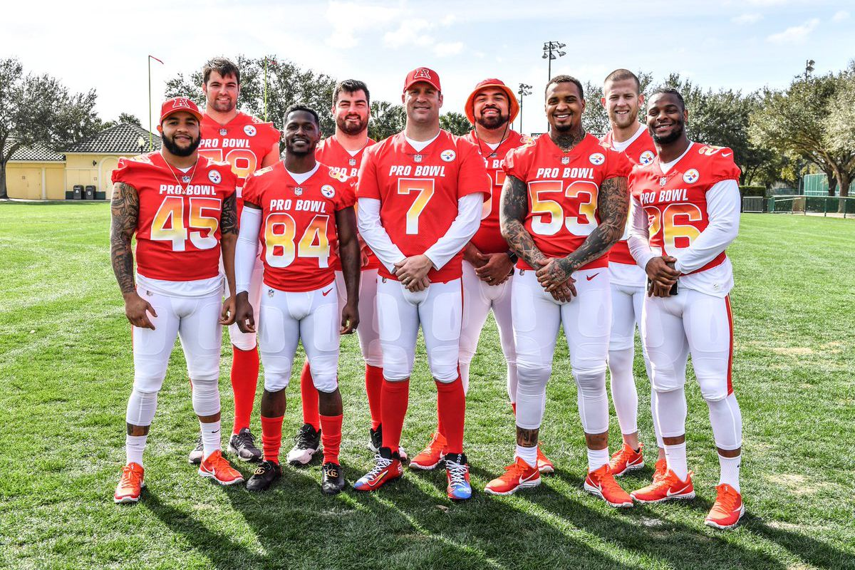 100% authentic 2f1fb 3d6a9 The Pro Bowl is loaded with Steelers, but will anyone watch ...