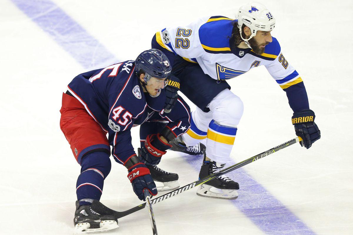 NHL: Preseason-St. Louis Blues at Columbus Blue Jackets