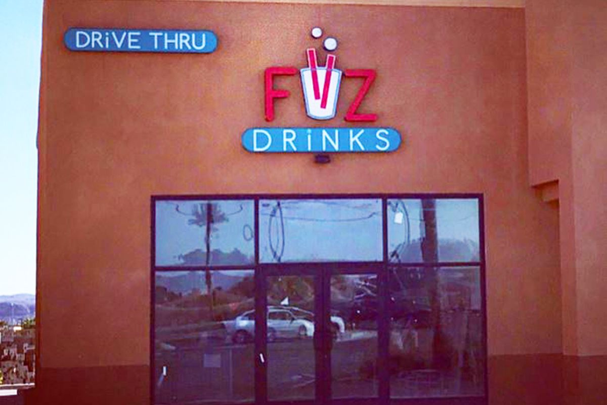 FiiZ Drinks Las Vegas exterior