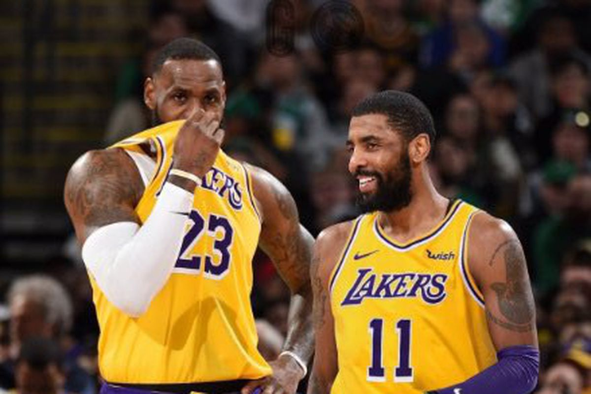 cheap for discount eb429 e4ed6 NBA Free Agent Rumors: Lakers targeting Kyrie Irving, Kawhi ...