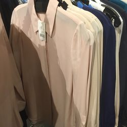 Blush collared blouse, $79 (was $295)