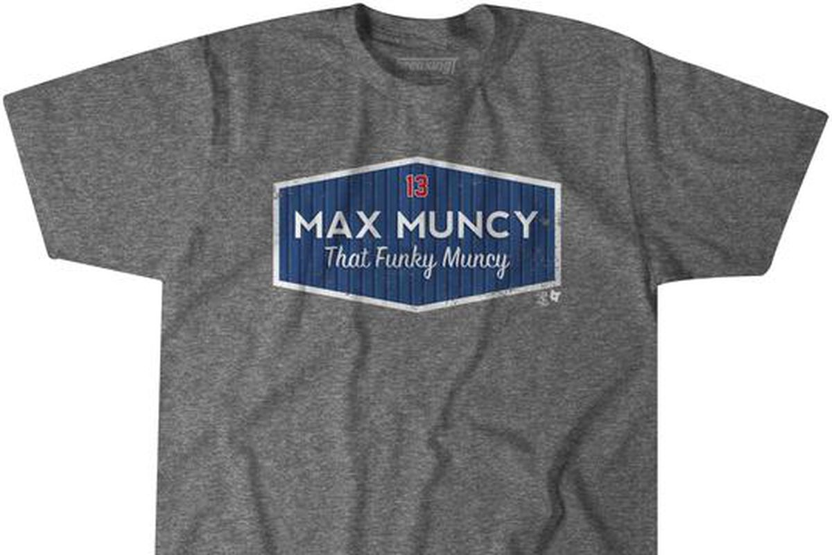 That Funky Muncy  is the shirt Dodgers fans need for the MLB ... 596ad968fb4